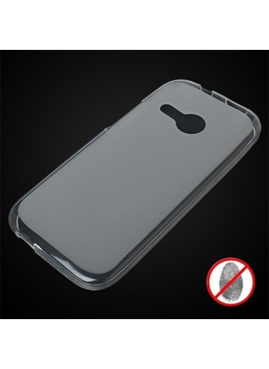 Samsung Htc One M8 Mini Süper Silikon Kılıf - Beyaz Renkli